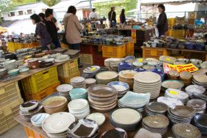 益子焼 陶器市