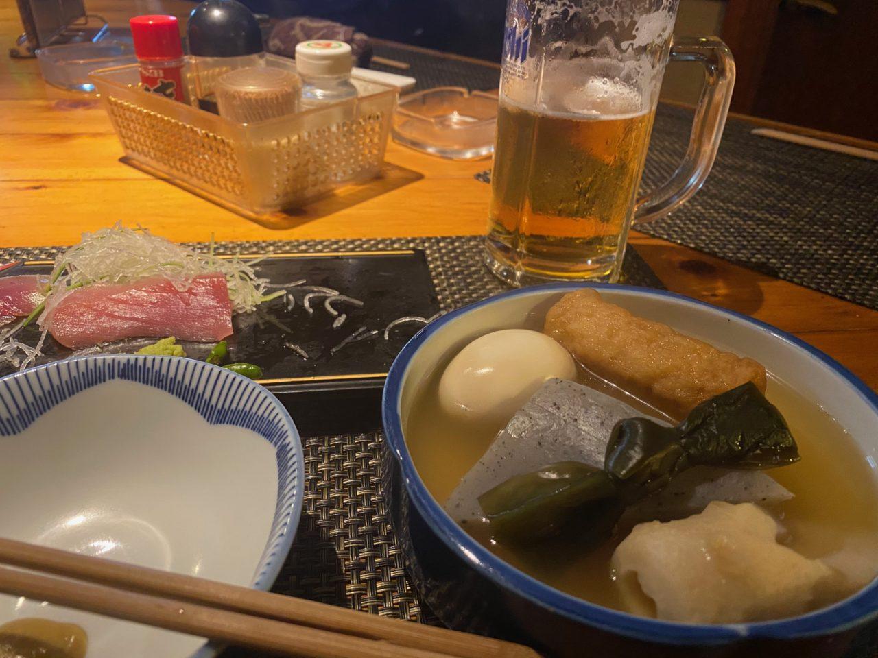 伊豆大島 肴や おでん