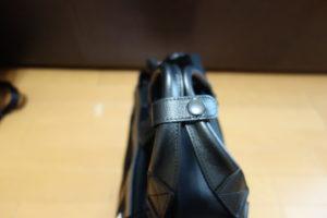 ブリーフィング FUSION TRINITY LINER HD 持ち手
