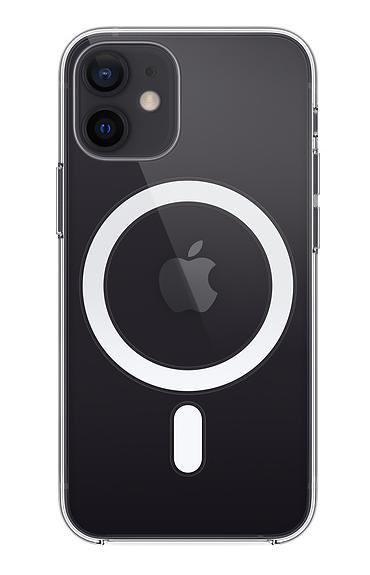 iphone12miniクリアケース(ブラック)