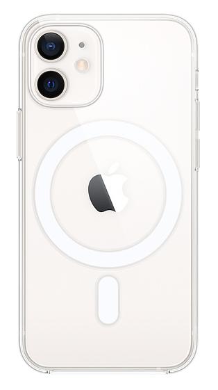 iphone12miniクリアケース(ホワイト)
