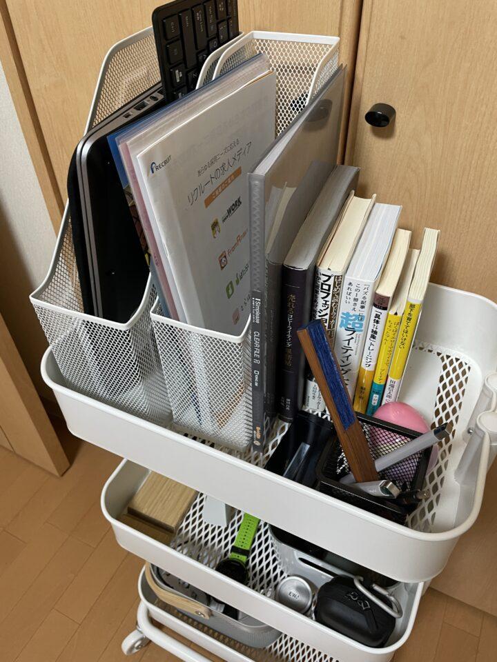 IKEAのロースコグ 収納例